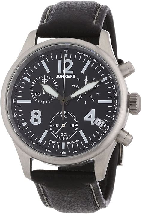 Amazon.com: Junkers G38 Chronograph/Date Aviation Watch ...