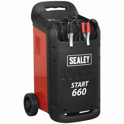 Duty Charger Heavy Starter Sealey Battery Chargers