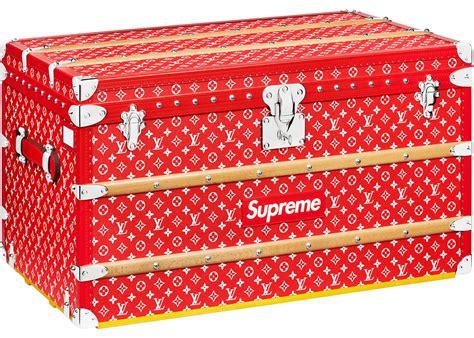 louis vuitton x supreme courrier trunk monogram 90