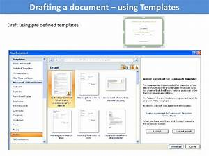 managing documents using ms word With documents 5 use