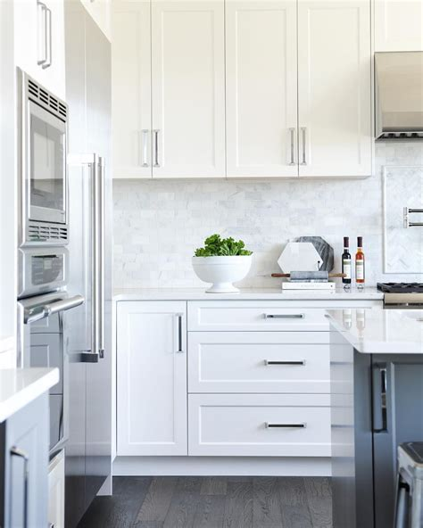 White Kitchen Backsplashes by Amanda On Instagram I This Kitchen White