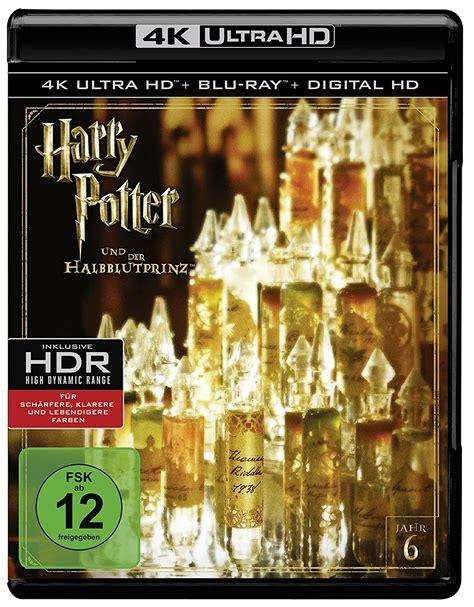 Harry Potter Und Der Halbblutprinz 4k Bluray Dvd