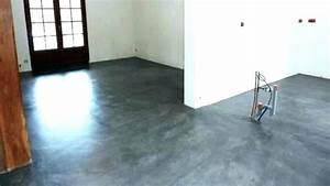 Béton Ciré Mural : ciment cire mural beton sur ancien carrelage sol tehnologichno beton cire sur carrelage de ~ Melissatoandfro.com Idées de Décoration