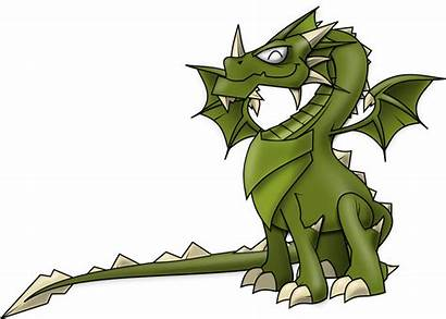 Dragon Clipart Clip Fantasy Transparent Domain Creatures