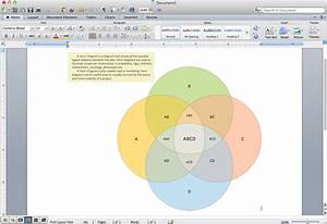 How To Create A Venn Diagram In Mac Word