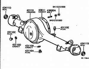 Front Axle Housing  U0026 Differential For 1980