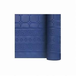 Nappe Bleu Marine : nappe damass e 6m bleu marine envies festives ~ Teatrodelosmanantiales.com Idées de Décoration