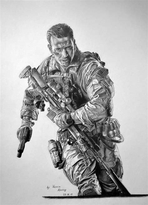 Battlefield 4 pencil drawing by al54xx.deviantart.com on @DeviantArt in 2019   Military drawings