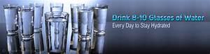 Body Weight Drinking Chart Daily Water Intake Calculator