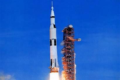Apollo Rocket Launch July Moon Aviation Blasts