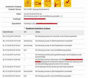Dhl Paket In Filiale Abholen Am Selben Tag : versandschaden dhl paket kommt wieder zur verschiedenes allgemeines diskussionsforum ~ Orissabook.com Haus und Dekorationen