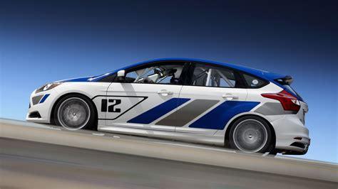 ford cars ford focus st  race car