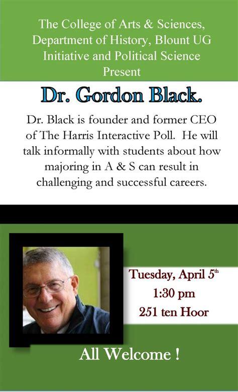 dr gordon black founder  ceo   harris