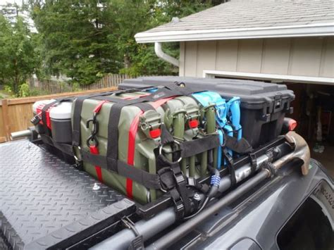 roof rack storage planning a bug out vehicle load prior to a survival