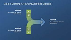 Converging Powerpoint 2 Arrow