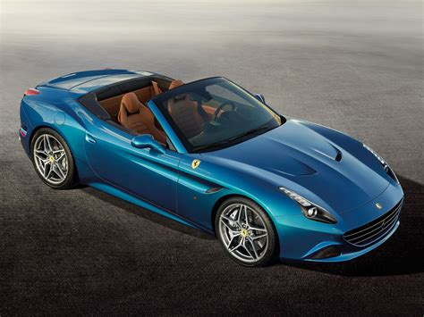 The ferrari california t with the top up. Geneva 2014: Ferrari California T