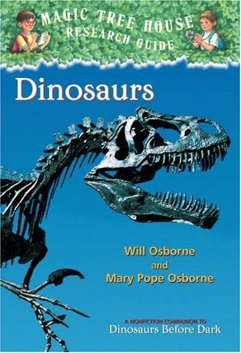 dinosaurs magic tree house research guide