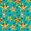 Yogi Bear Nursery Fabric - Toss characters with yogi bear ...