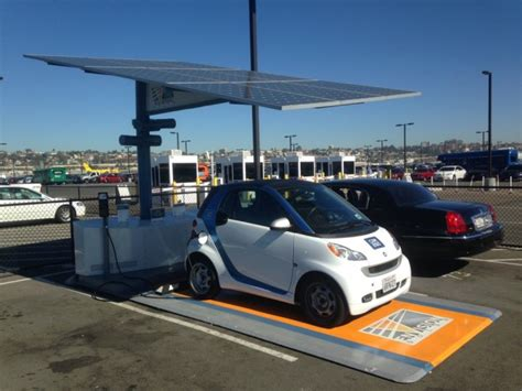 Self-contained Solar Carport With Battery