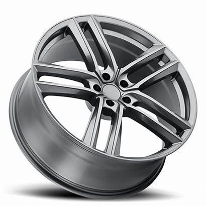 Milanni Clutch Wheels Gunmetal Wheel Rims Lug