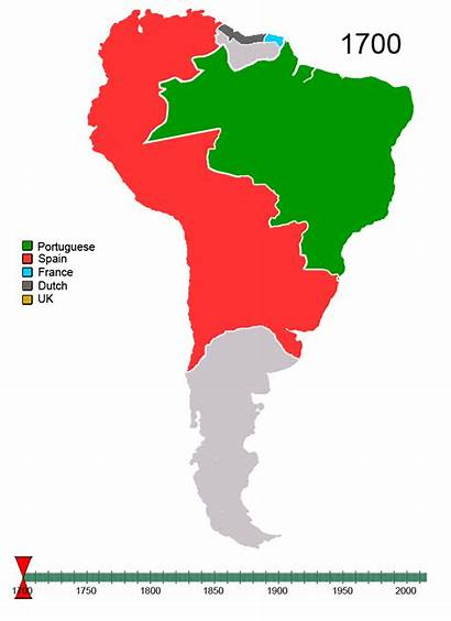 America South American Control 1700 Native Nations