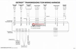 Detroit Diesel Transmissions Electronic Wiring Schematics