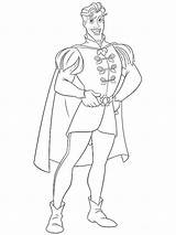 Prince Coloring Pages Le Petit Cartoon Princ sketch template