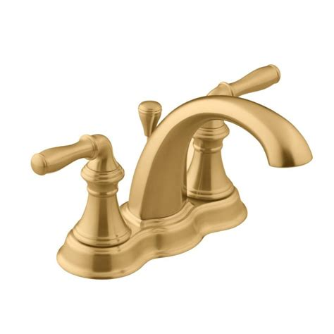 Brushed Bronze Bathroom Faucets by Shop Kohler Devonshire Vibrant Brushed Bronze 2 Handle 4