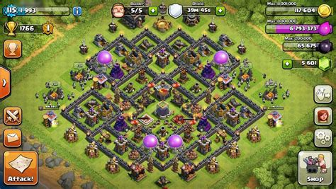 12 new farming layouts th9 for clash of best clash of clans th9 farming base attackia clash of 12 n