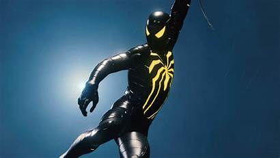 Spiderman Suit Dark Wallpapers Resolution 4k Ps4