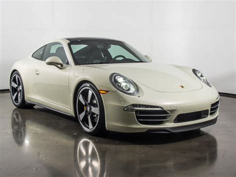Porsche 911 50th Anniversary Edition For Sale Used Cars On