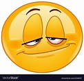 Stoned emoticon vector image on in 2020 (With images ...