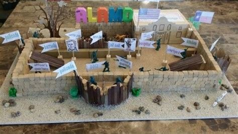Ethan ' S 4th Grade Alamo Project 2015