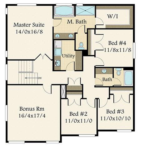 exclusive modern  bed house plan  bonus room ms architectural designs house plans