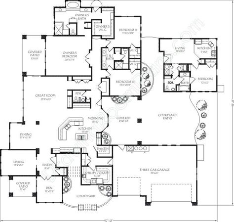 Home Plans With Apartments Attached by Mediterranean Contemporary House Plans Home Design Dr
