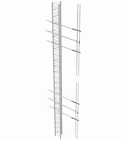 Dipole Antenna Exposed Low Antennas Band 70hd