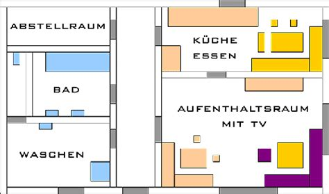 Grundriss Der Ferienwohnung Im Ferienhaus Arber Haus Max