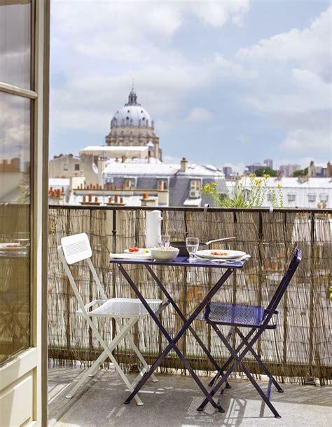 20 Idées Pour Amenager Un Petit Balcon  Elle Décoration