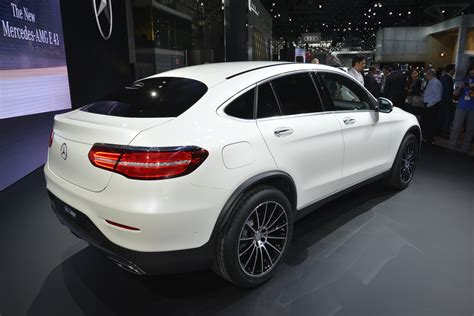 mercedes glc coupe detailed  nys lights carscoops