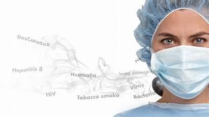 Smoke Surgical Nurse Surgeons Health Clinicians Nurses