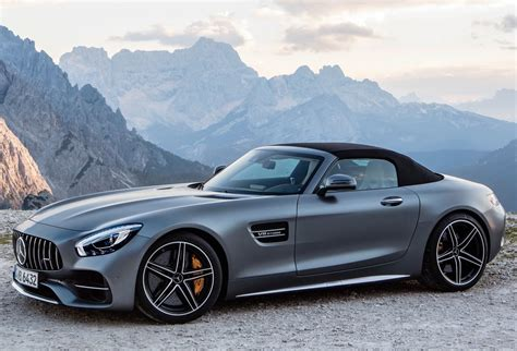 Meet the New Mercedes-AMG GT C Roadster - AutoNation Drive ...