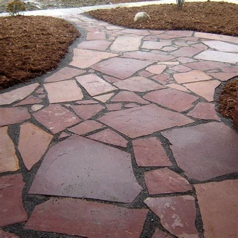 pictures of flagstone fort worth grass stone colorado red flagstone