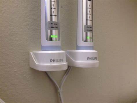 Sonicare HX6100 Charger Wall Mount - Glow-In-The-Dark | eBay