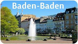 Gaststätten Baden Baden : baden baden spa town in germany youtube ~ Watch28wear.com Haus und Dekorationen