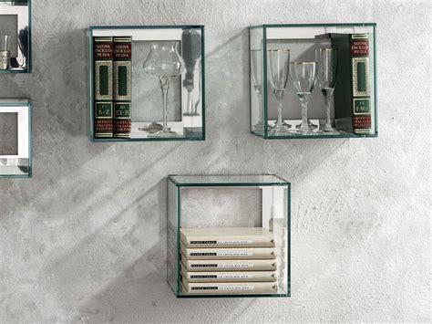 porta mensole vetro mensola in vetro