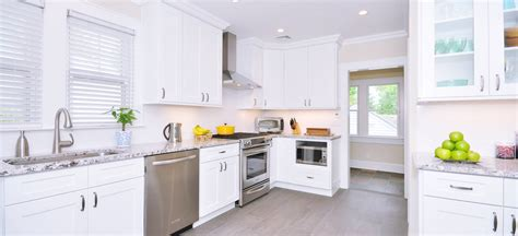Faircrest Cabinets Aspen White by Shaker Cabinets Los Angeles Kitchen Cabinet San Diego