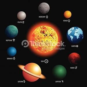 Planets Of Solar System Vector Art | Thinkstock