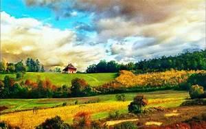 Summer Country Wallpaper