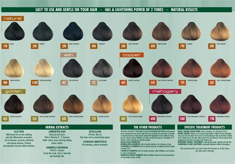 herbatint color chart buy herbatint colour chart for reference only 1
