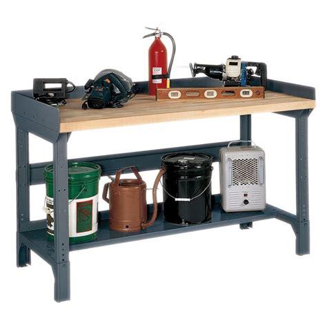 edsal basic  workbench steelwood top work surface
